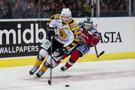 Anton Lindholm i Skellefteå-tröjan. Foto: Michael Erichsen / BILDBYRÅN