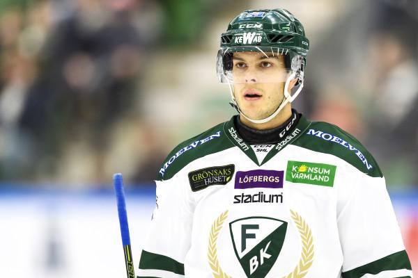 Björn Svensson i FBK-tröjan. Foto: Anders Bjurš / BILDBYRÅN
