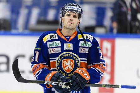 Cory Murphy i Växjö Lakers. Foto: JONAS LJUNGDAHL / BILDBYRÅN