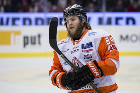 Jimmy Andersson i KHK-tröjan. Foto: Michael Erichsen / BILDBYRÅN