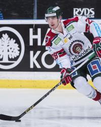 Johan Sundström i Frölunda. Foto: Johanna Lundberg / BildbyrŒån