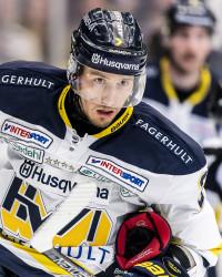 Kristofer Berglund i HV71. Foto: Jonas Ljungdahl / BILDBYRÅN