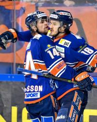 Växjös Emil Pettersson och Dennis Everberg. Foto: Jonas Ljungdahl / BILDBYRÅN