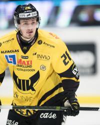 Hampus Larsson i VIK Västerås. Foto: Andreas Sandströšm / BILDBYRÅN