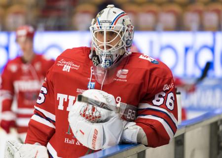 Johan Mattsson i Timrå IK. Foto: PŠär Olert / BILDBYRÅN