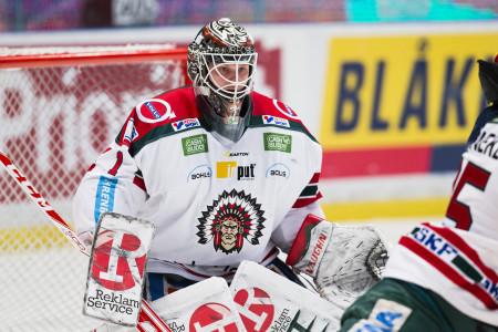 Målvakten Lars Johansson i Frölunda. Foto: Andreas L Eriksson / BildbyrŒån