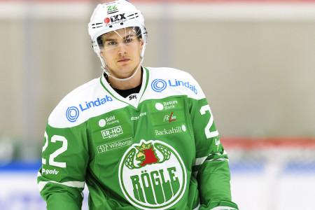 Sebastian Wännström i Rögle. Foto: Anders Bjurš / BILDBYRÅN