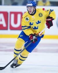 Tom Nilsson i Sverige-tröjan. Foto: Lennart Månsson / BILDBYRÅN