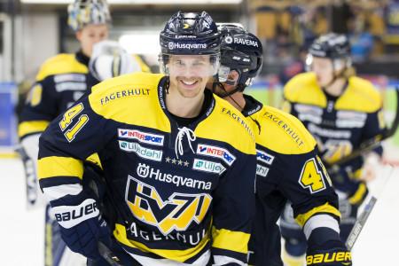 HV71:s David Ullström. Foto: Stefan Persson / BILDBYRÅN