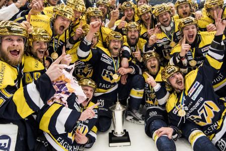 HV71 firar SM-guldet. Foto: Petter Arvidson / BILDBYRÅN