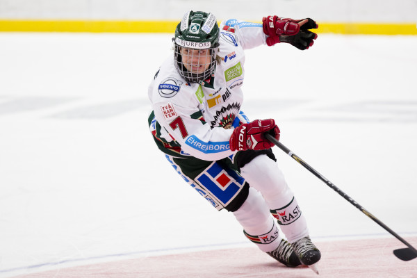 Frölundas Jakob Olsson. Foto: Stefan Persson / BILDBYRÅN