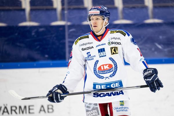 Jonas Liwing i IK Oskarshamn. Foto: Petter Arvidson / BILDBYRÅN
