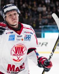 Mats Frøshaug i Västerviks IK. Foto: Andreas L Eriksson / BildbyrŒån