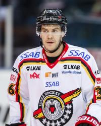 Niklas Fogström i Luleå Hockey. Foto: Per Friske / BILDBYRÅN