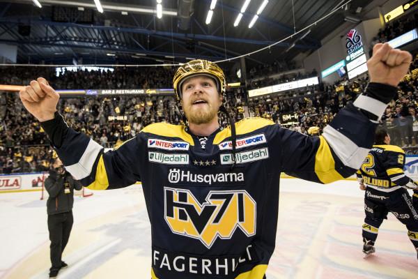 Ted Brithén i HV71. Foto: Petter Arvidson / BILDBYRÅN
