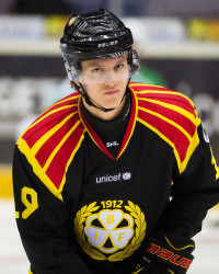 Johannes Kinnvall i Brynäs IF. Foto: Simon HastegåŒrd / BildbyrŒån
