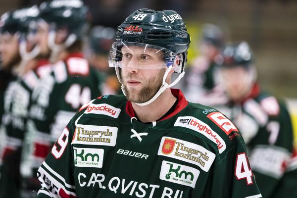 Niklas Johansson i Tingsryd AIF. Foto: Jonas Ljungdahl / BILDBYRÅN