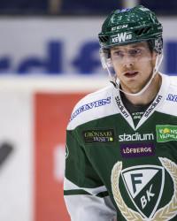 Gustaf Thorell i Färjestad BK. Foto: Fredrik Karlsson / BILDBYRÅN