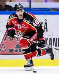 Kael Mouillierat i Luleå Hockey. Foto: Peter Skaugvold / BILDBYRÅN