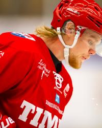 Ludvig Nilsson i Timrå IK. Foto: PÄR OLERT / Bildbyrån