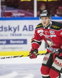 Måns Hansson i Malmö Redhawks. Foto: Christian …Örnberg / BILDBYRÅN