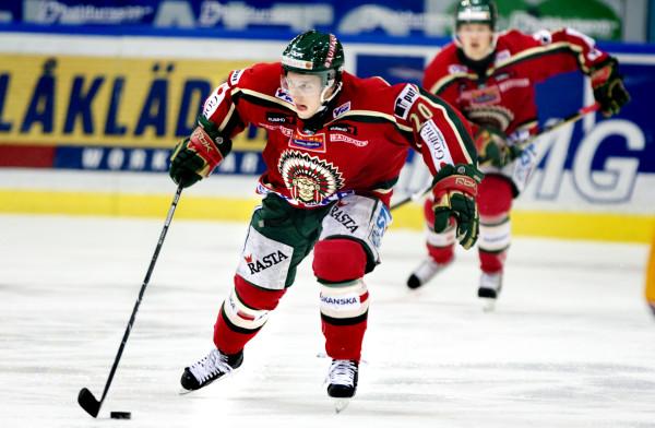 Tuukka Mäntylä i Frölunda HC. Foto: BildbyrŒån