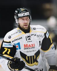 Niklas Lihagen i VIK Västerås. Foto: Erik Simander / BILDBYRÅN