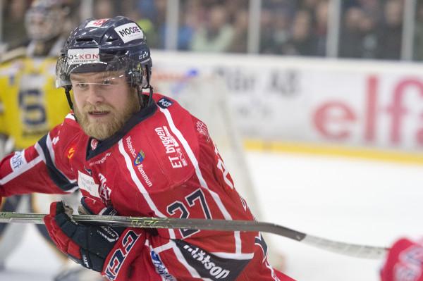 VŠsterviks Alexander Pettersson. Foto: Daniel Nestor / BILDBYRÅN
