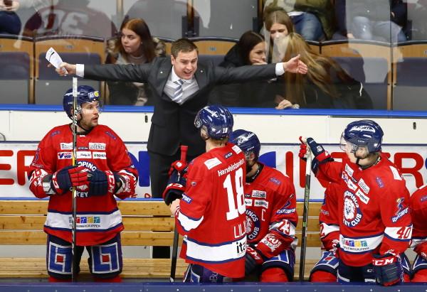 LHC:s tränare Dan Tangnes. Foto: Peter Holgersson / BILDBYRÅN