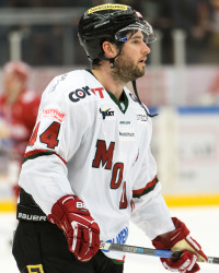 Jordan Smotherman I MoDo Hockey. Foto: PäŠr Olert / BILDBYRÅN