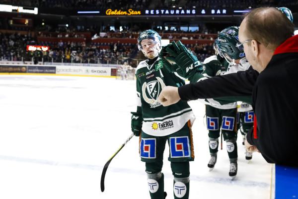 Alexander Johansson i Färjestad BK. Foto: Anna-Lena Bergqvist/ BILDBYRÅN