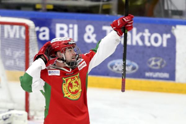 Oskar Svanlund i Mora IK. Foto: Daniel Eriksson / BILDBYRÅN