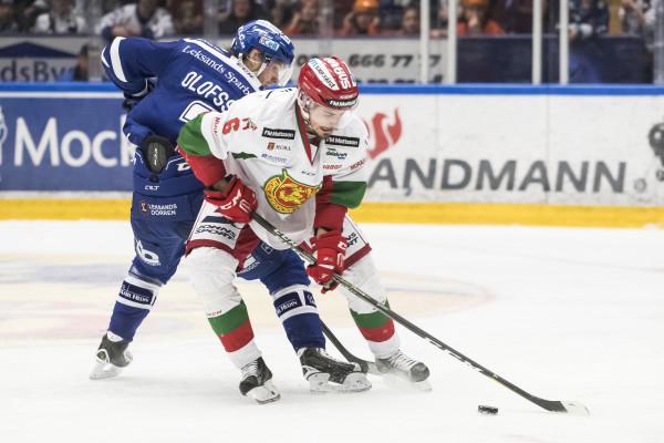 Christoffer Björklund i Mora IK. Foto: Daniel Eriksson / BILDBYRÅN