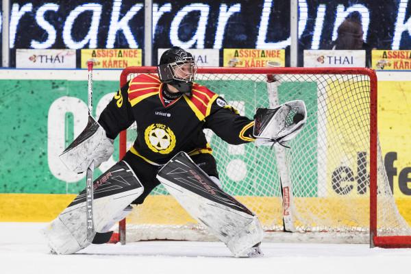 Oliver Dackell i Brynäs IF. Foto: Andreas L Eriksson / Bildbyrän