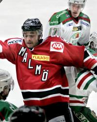 Alexander Semjonovs i Malmö Redhawks. Foto: Daniel Nilsson / Bildbyrån