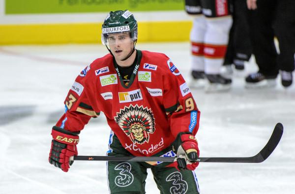 Evan McGrath under sin tid i Frölunda. Foto: Carl Sandin / BILDBYRÅN