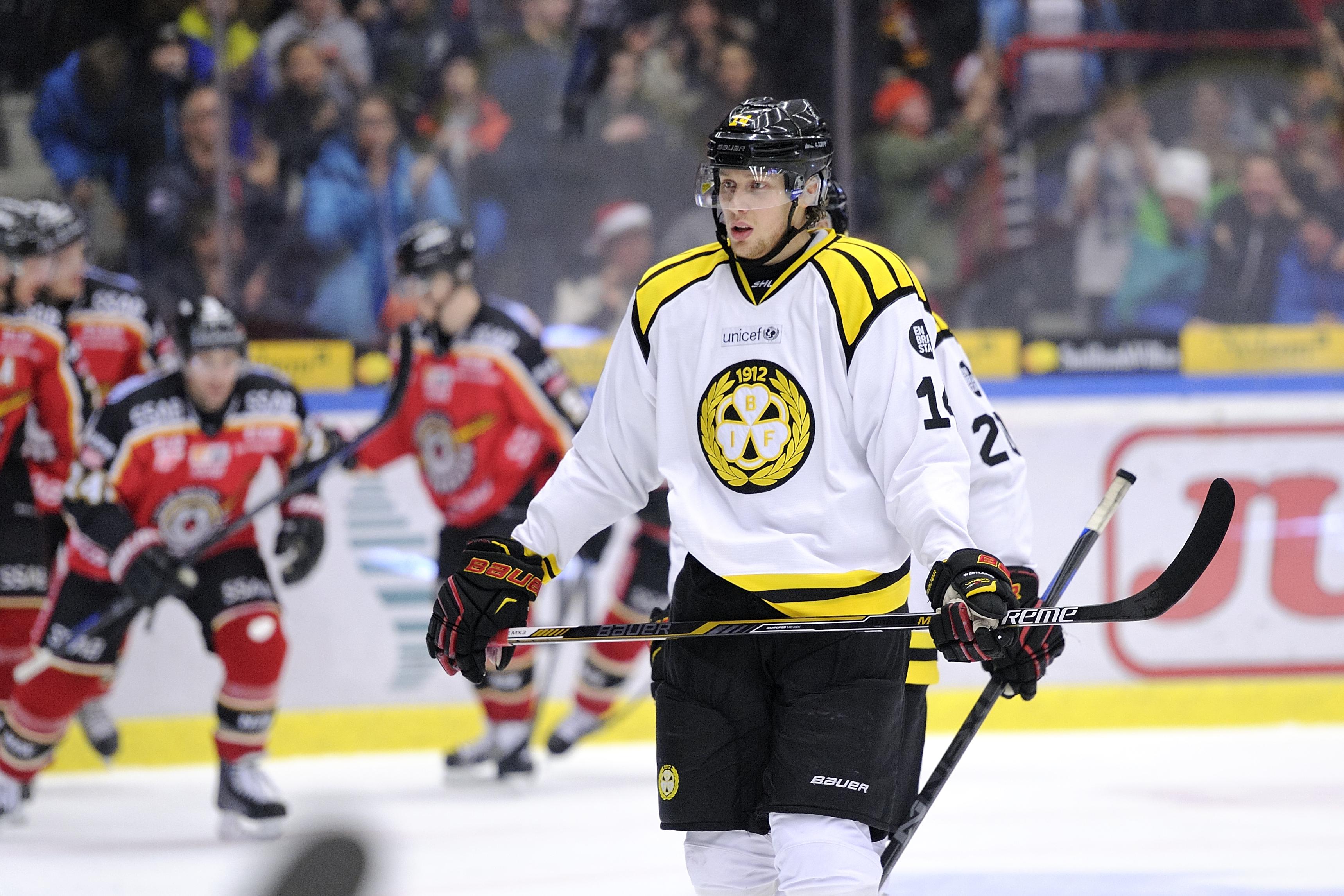 Shl meriterad malvakt till hockeyettan