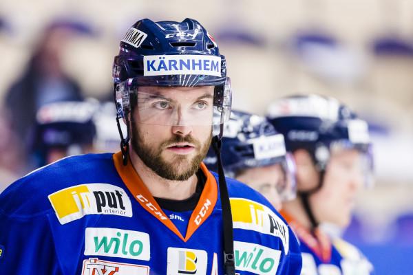 Noah Welch i Växjö Lakers. Foto: Jonas Ljungdahl / BILDBYRÅN