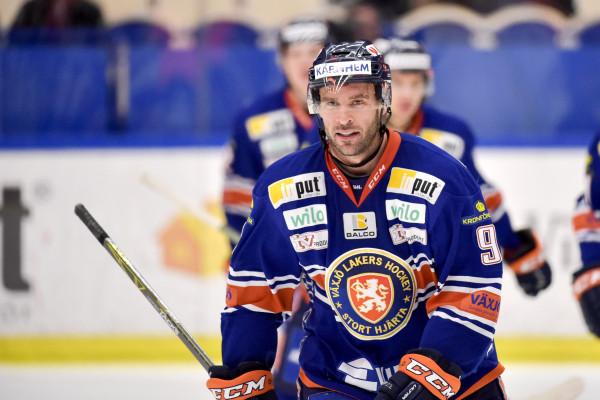 Josh Hennessy i Växjö Lakers. Foto: Jonas Ljungdahl / BILDBYRÅN