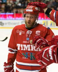 Sebastian Lauritzen i Timrå IK. Foto: PŠär Olert / BILDBYRÅN