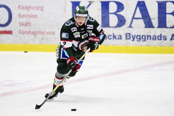 Johannes Johannesen i Frölunda HC. Foto: MATHIAS BERGELD / BILDBYRÅN