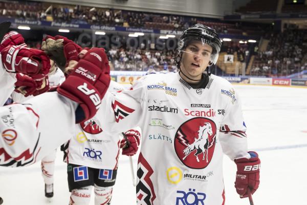 Vita Hästens Rickard Palmberg. Foto: Daniel Eriksson / BILDBYRÅN
